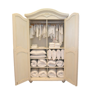 Hand-crafted Armoire- Isabella - Armoire- Baby Belle