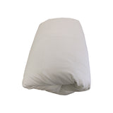 Cot Duvet Cover - 300TC Cotton Percale - Linen - Baby Belle