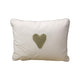 Scatter Stone Stripe hand crochet heart - Scatter Cushion- Baby Belle