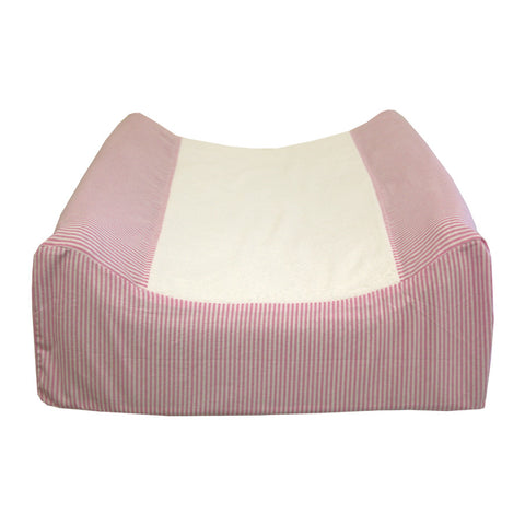 Changing Matt Cover - 100 % Cotten Pink PInstripe - Essentials - Baby Belle