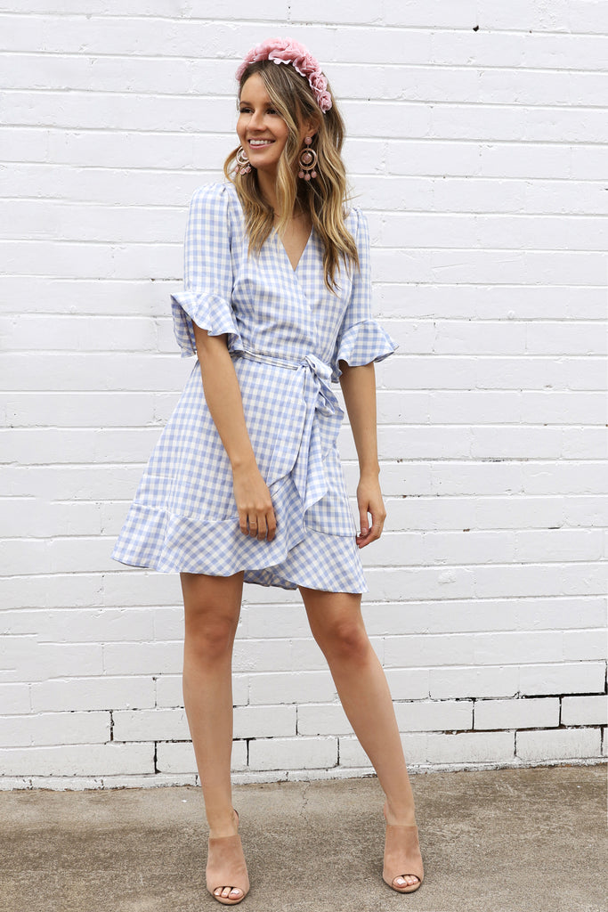 CHECKED OUT / DRESS