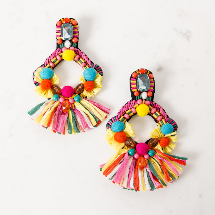 CARNIVALE POM POM / EARRINGS