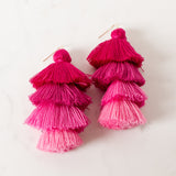 CHI CHI TIERED TASSEL / EARRINGS