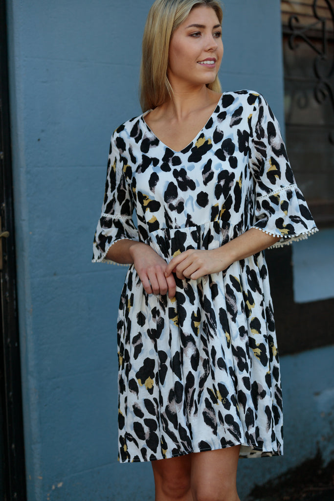 MAYBELL LEOPARD / DRESS