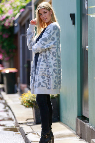 BAYLEY LEOPARD / CARDIGAN (FLASH SALE)