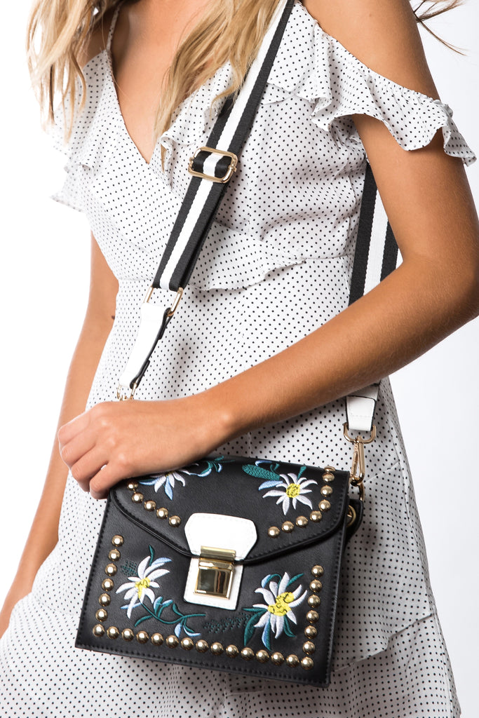 STELLA MINI SHOULDER/ BAG - BLACK