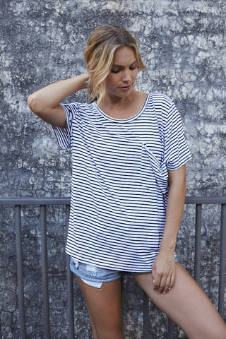 STRIPED MANHATTAN / TEE
