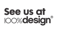 See us at 100% Desing in London in September 2015