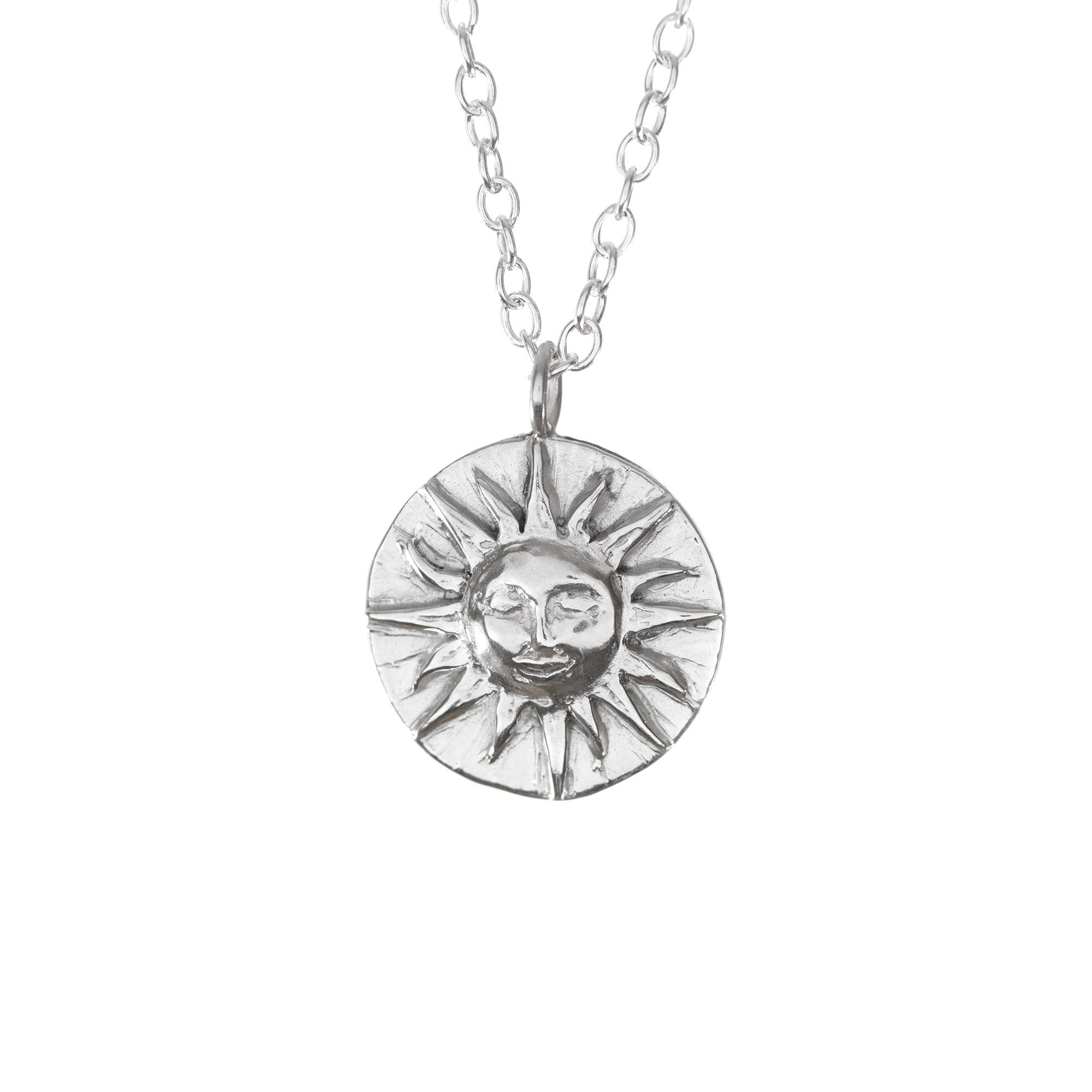 Sun Disk Necklace
