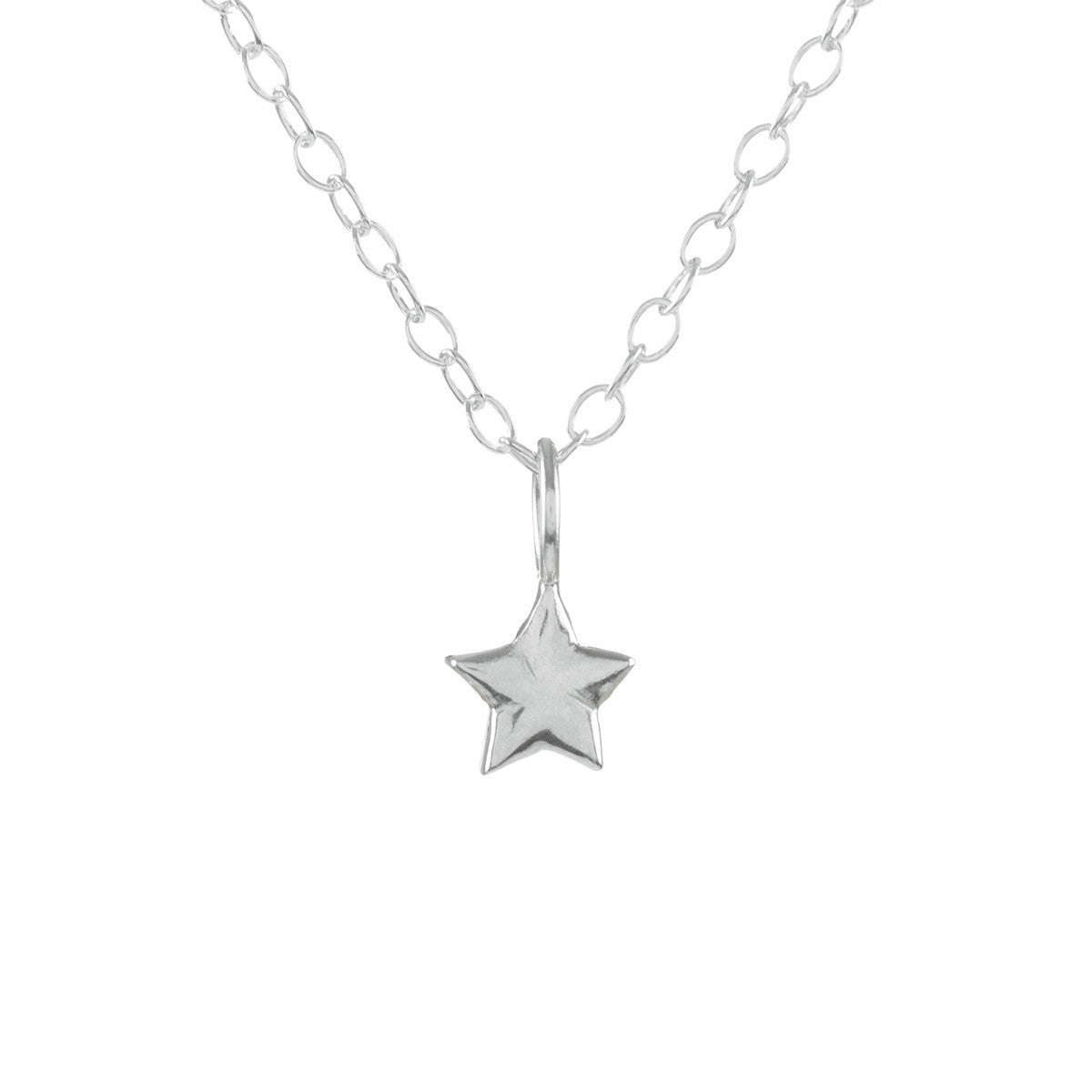 hope star necklaces vermeil muru jewellery image tiny gold necklace