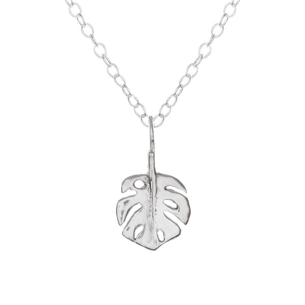 Exotic Leaf Necklace