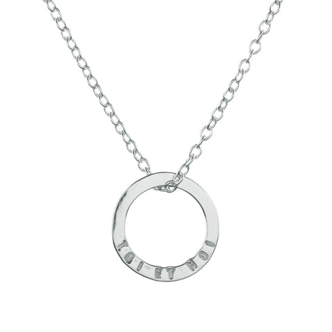 Mini Halo Necklace
