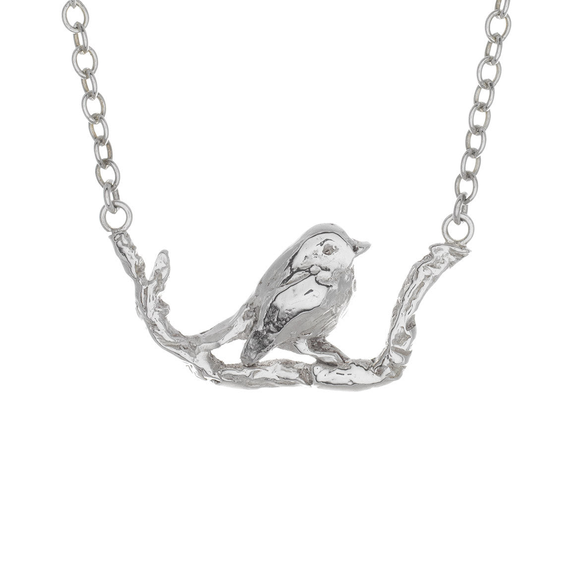 Perched Robin Necklace