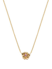 Fine Dali Mini Rose Necklace