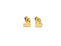Mustard and Peaches Origin Studs