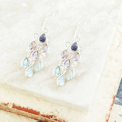 sofia cascading earrings