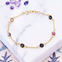 sweetie station bracelet  rose gold