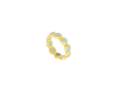Blue Chalcedony Stacking Ring