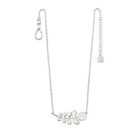 SILVER STEM necklace