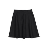 Knit Camp Skirt - Black
