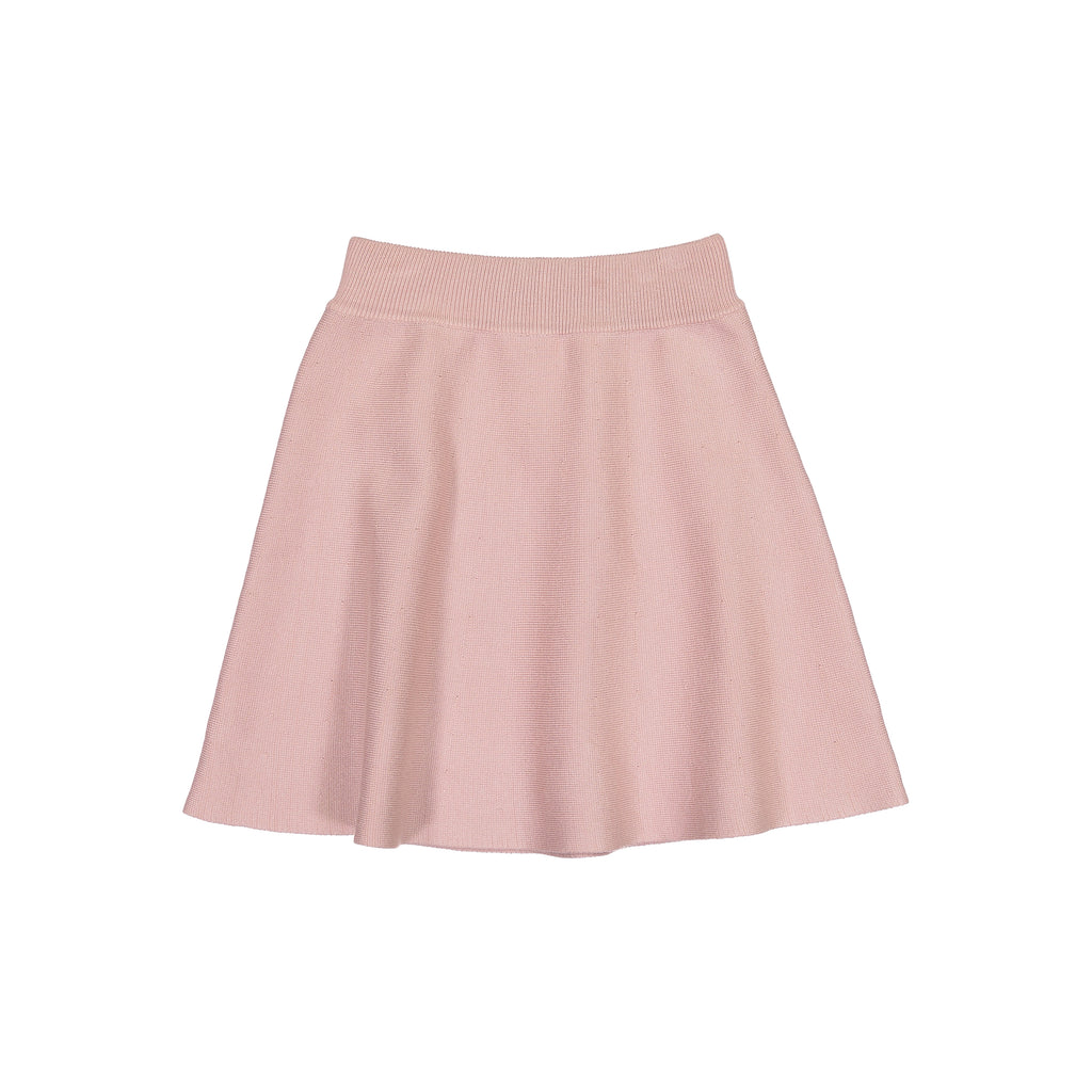 Knit Camp Skirt - Blush