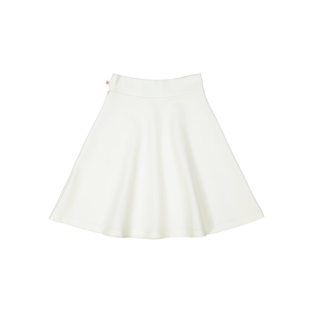 Women's Ponte Camp Skirt - Winter White