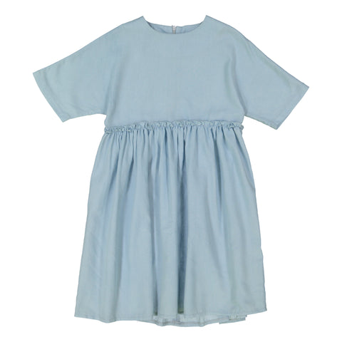 Denim Camp Dress - Light Denim