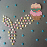 Sprinkle Mermaid Tail & Mermaid Mum Cake Topper