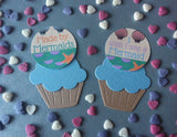 Made by Mermaids & Wish I was a Mermaid Cake Toppers