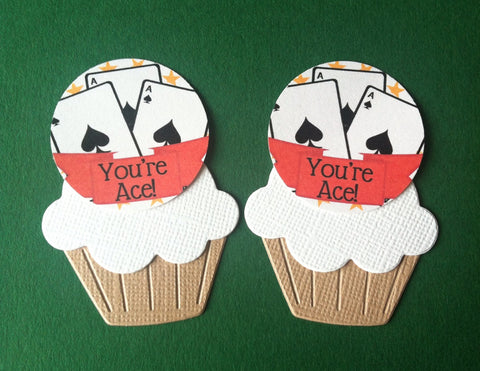 You're Ace - Twelve Cake Toppers