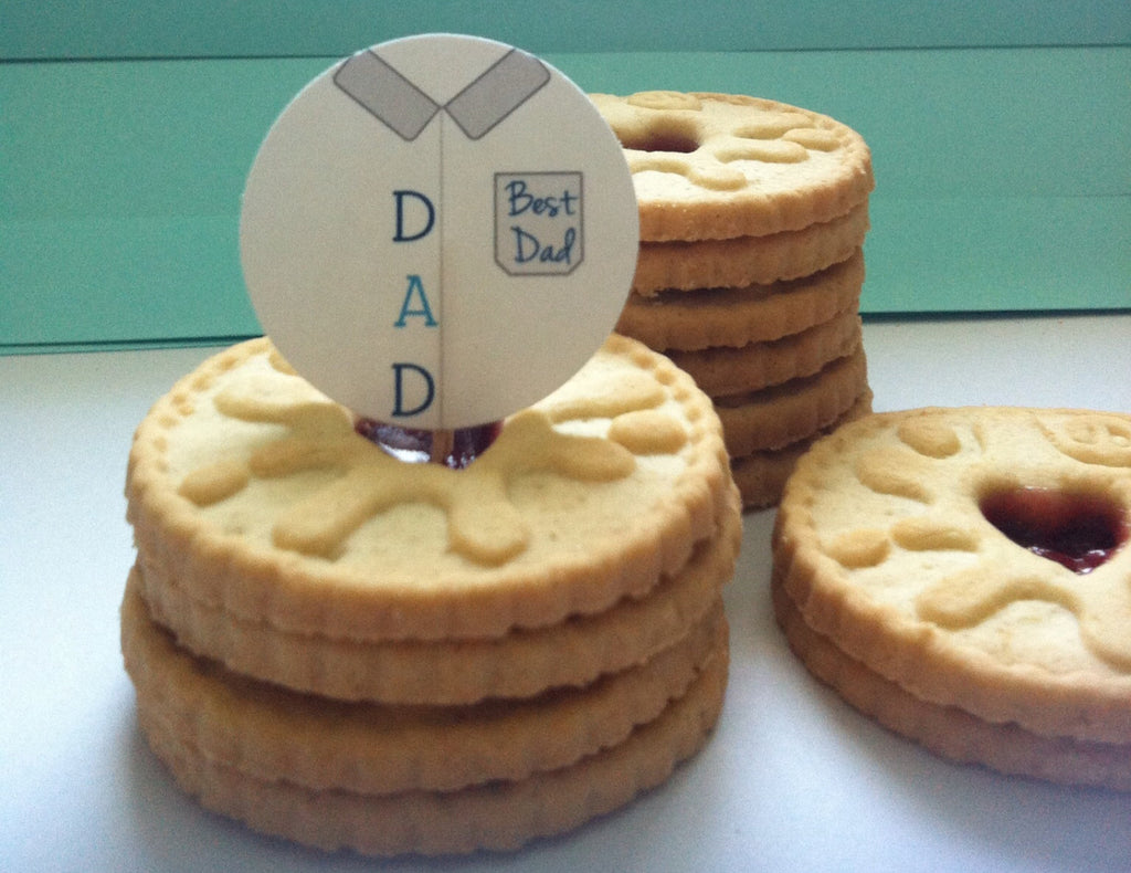 Best Dad Polo Shirt Cake Topper