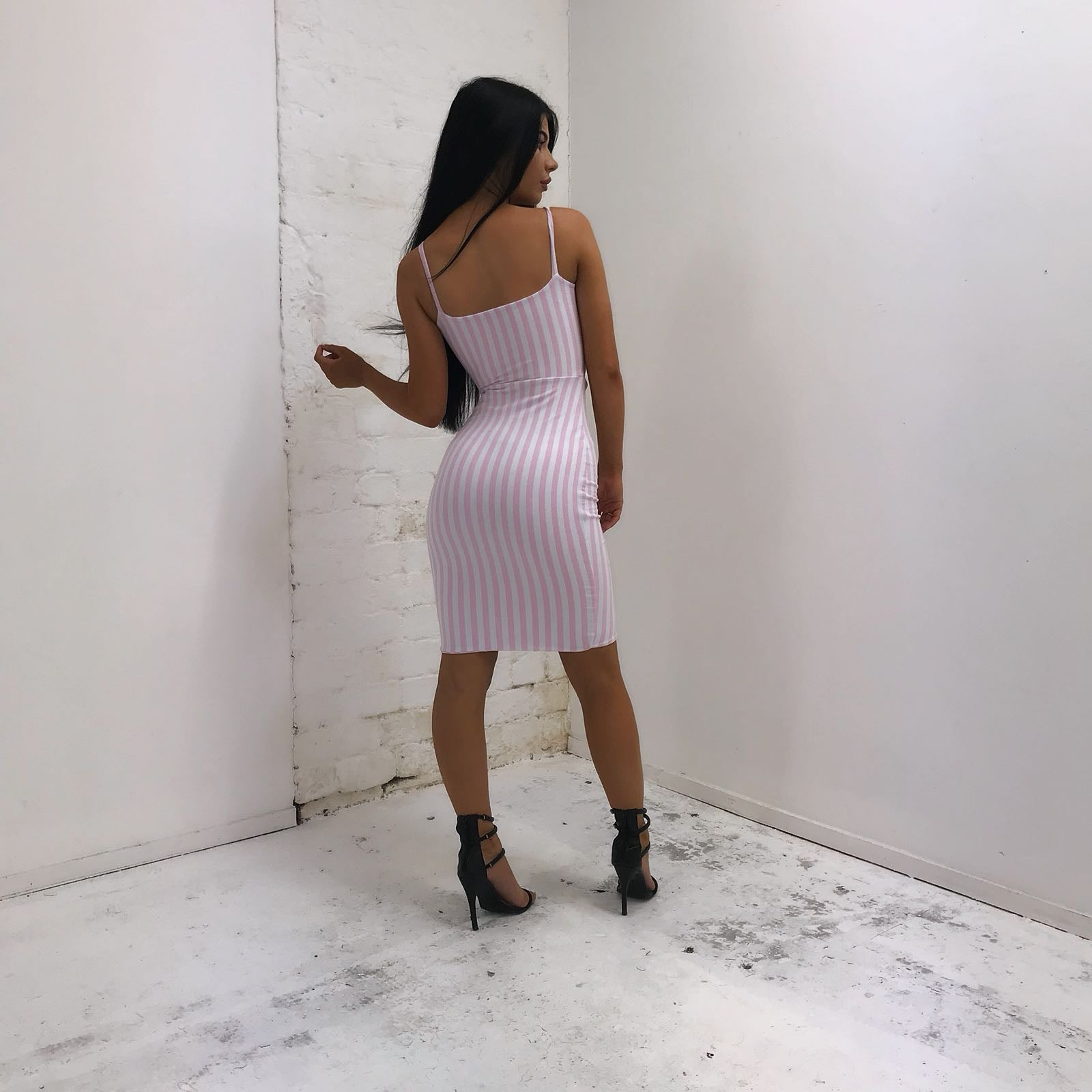 SAMPLE SALE- STRIPEY TWO PIECE