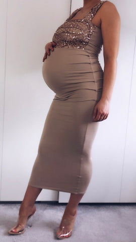 MATERNITY EFFIE DRESS