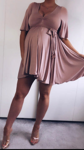 MATERNITY TIA DRESS