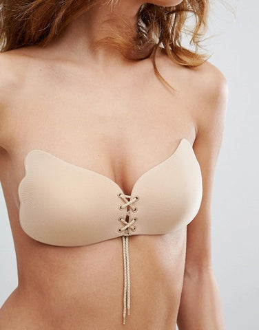 Nude Stick On Push Up Bra