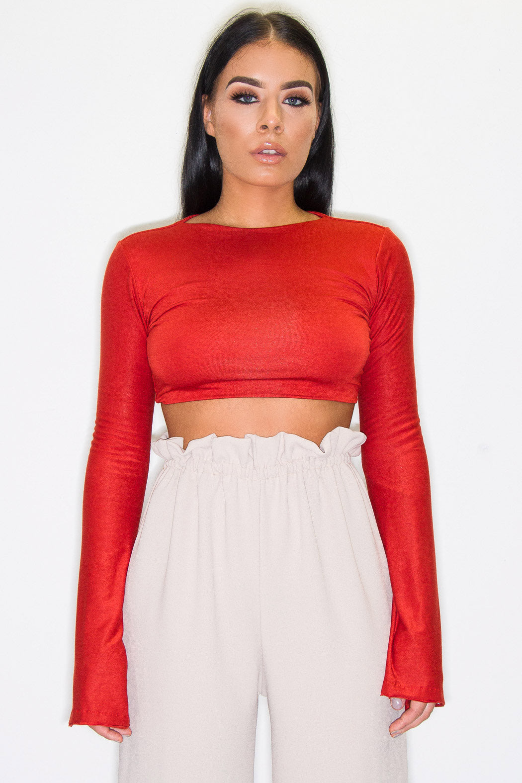 RAF BELL SLEEVE TOP RUST