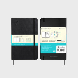 N Moleskine Notebook, 240 Ruled Pages