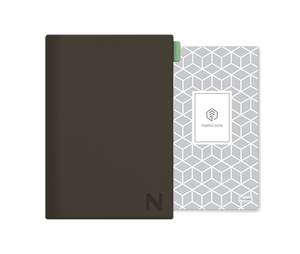 N Holder Grey  (N Memo Notebook Incl)