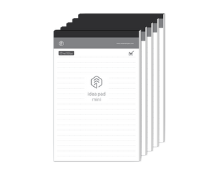 5 PACK - N idea pad mini, 100 ruled pages