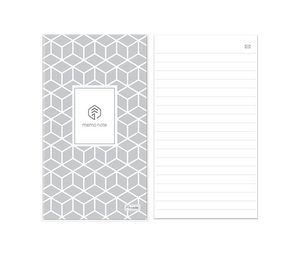 5 PACK - N Memo Notebook 50 Ruled Pages