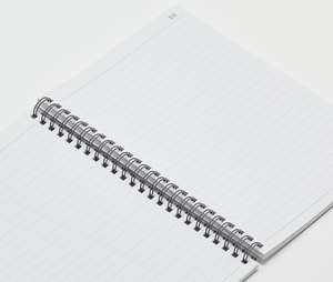 5 PACK  - N Ring Notebook, A5 Sized, 152 Ruled Pages