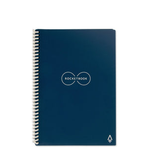 ROCKETBOOK EVERLAST - Midnight Blue - Executive Size - Reusable 32 Pages