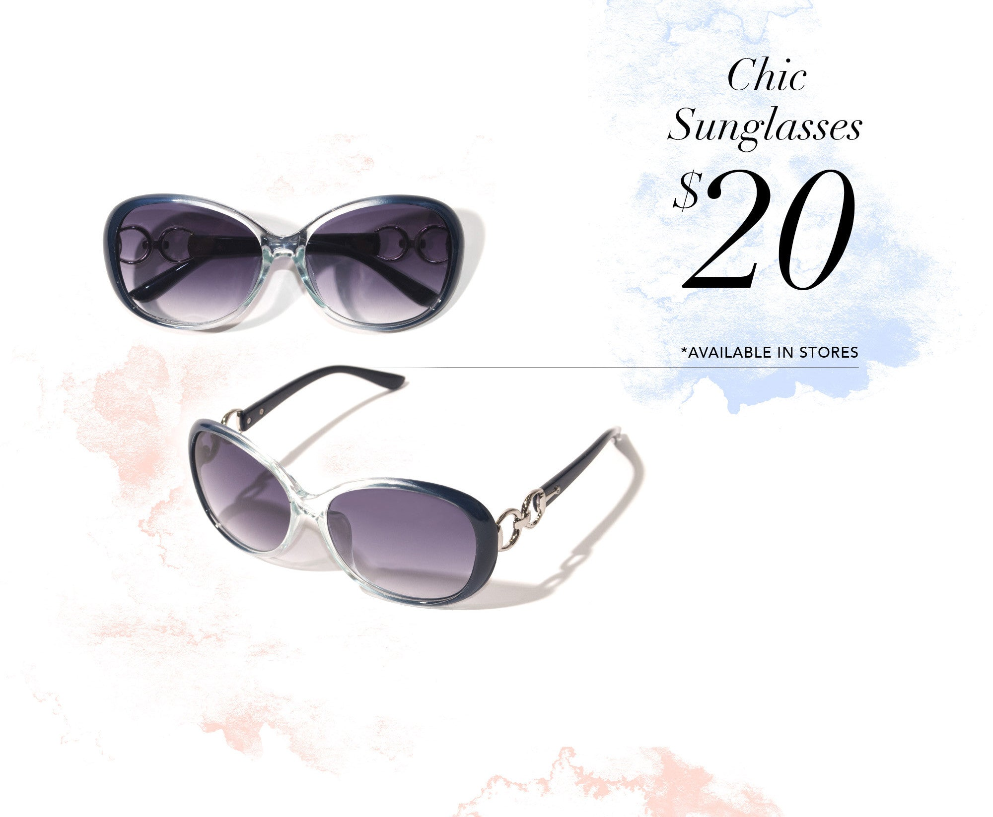 Chic Sunglasses - $20 Available In Stores