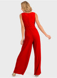 DOUBLE V JUMPSUIT