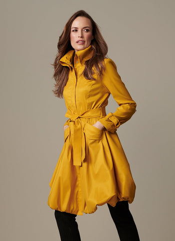 STRETCH TAFFETA BUBBLE EVENING JACKET