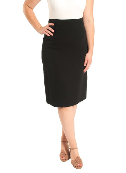 "TRIACETATE 24"" STRAIGHT SKIRT"