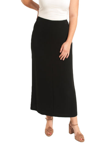 "TRIACETATE LONG 34"" SLIGHTLY  FLARED SKIRT"