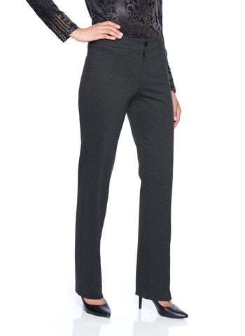 STRAIGHT LEG FLY FRONT PANT