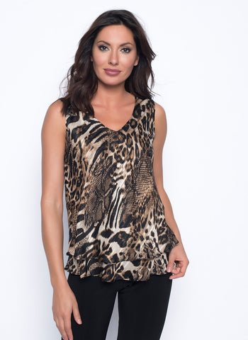 ANIMAL LAYERED TANK