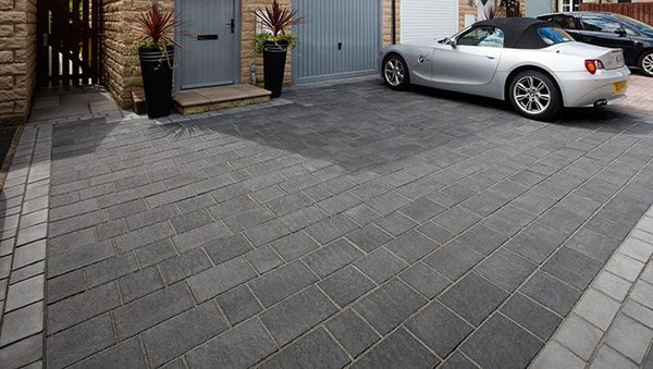 Drivesys Patented Driveway System Flamed Stone